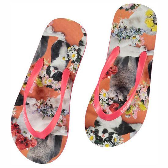 Пантолеты Molo Zeppo Flower Power Cats, арт. 7S21U201.6203, цвет Оранжевый