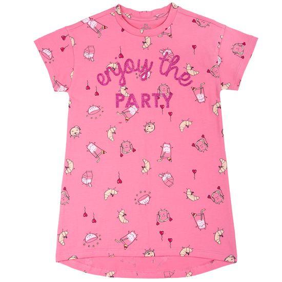 Рубашка ночная Chicco Party time, арт. 090.90142.016, цвет Розовый