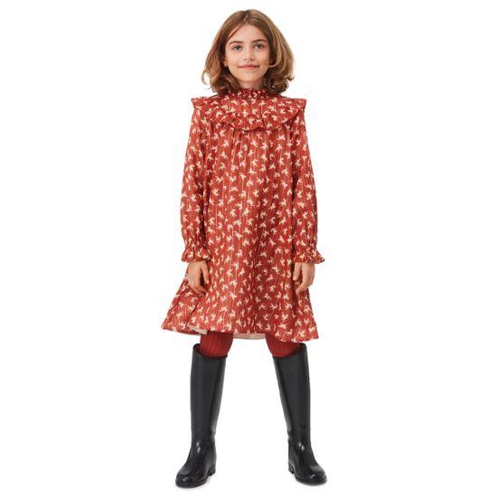 Платье Molo Clair Mini Horse Woven, арт. 2W21E205.6391, цвет Красный