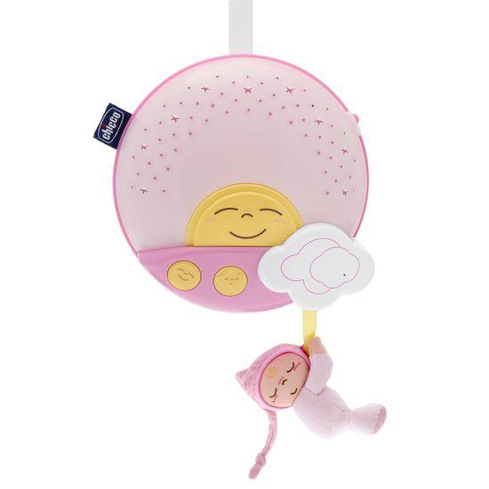 "Панель музыкальная на кроватку Chicco ""Sunset"", арт. 06992, цвет Розовый"