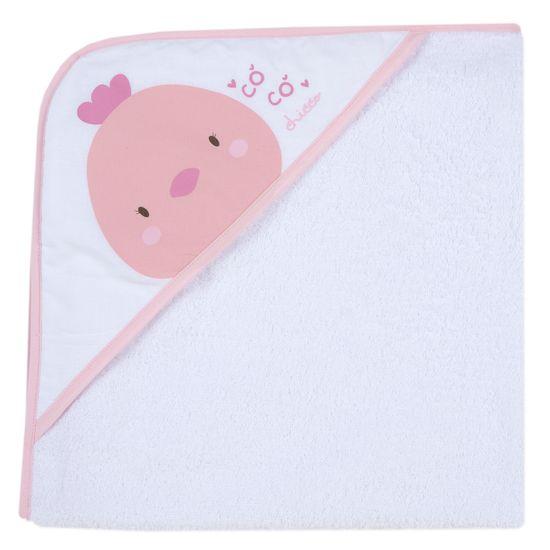 Полотенце Chicco Chicken , арт. 090.40988.011, цвет Розовый