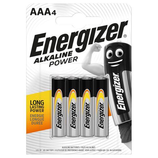 Батарейки Energizer AAA Alk Power, 4 шт., арт. 6429530