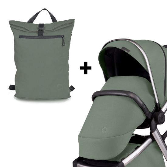 Комплект аксессуаров Anex l/type: рюкзак и накидка для ног, арт. lt-01t-acc, цвет Оливковый