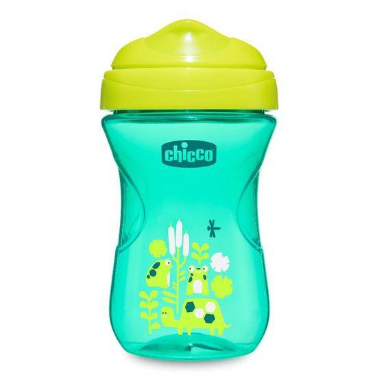 "Поильник непроливайка Chicco ""Easy Cup"", 266мл, 12м+, арт. 06961.00.00, цвет Светло-зеленый"