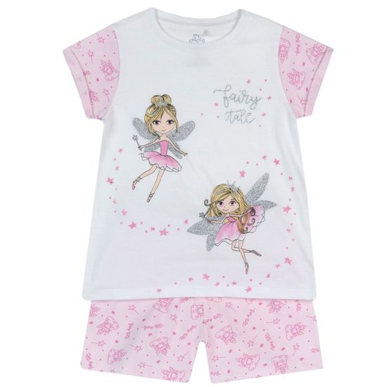 Пижама Chicco Favorite fairies, арт. 090.35343.031, цвет Розовый