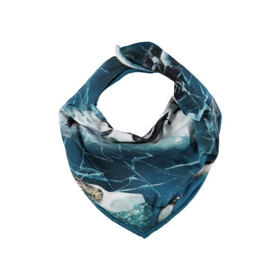 Слюнявчик Molo Nick Antarctica, арт. 7W19T102.4885, цвет Синий