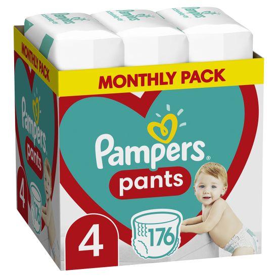 Подгузники-трусики Pampers Pants, размер 4, 9-15 кг, 176 шт, арт. 8006540068557