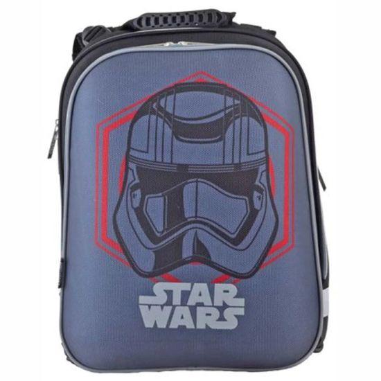 """Рюкзак школьный каркасный 1Вересня """"Star Wars"""" , арт. 554597"""
