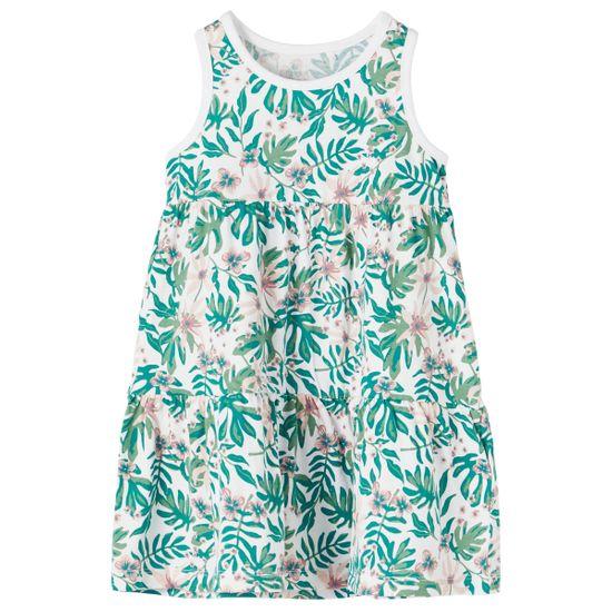 Платье Name it Sofia white, арт. 211.13189315.BWHI, цвет Зеленый