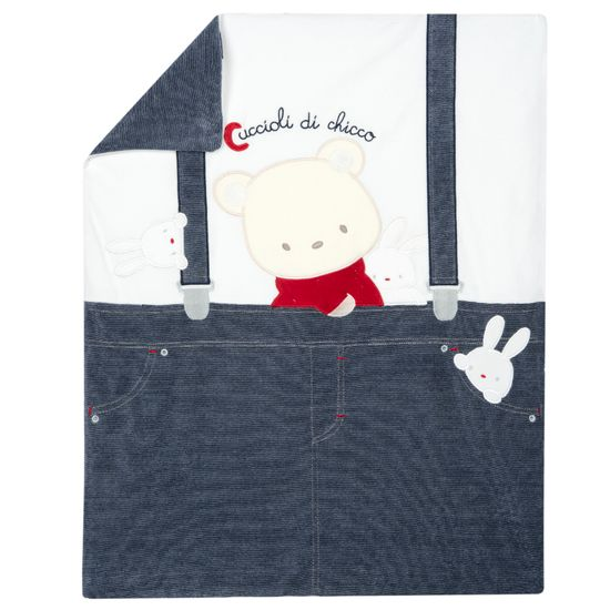 Одеяло Chicco Hello friend, арт. 090.05203.038, цвет Синий