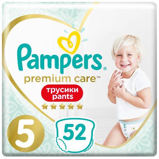 Подгузники-трусики Pampers Premium Care, размер 5, 12-17 кг, 52 шт, арт. 8001090760036