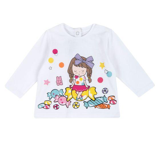 Реглан Chicco Sweet candy, арт. 090.67104.033, цвет Белый