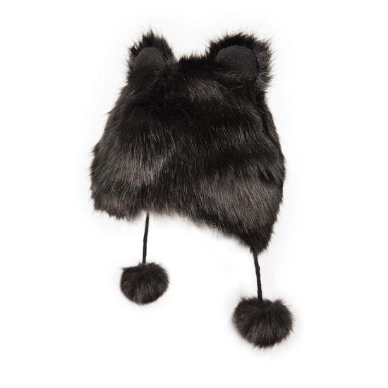 Шапка Appaman Fuzzy Black, арт. 183.S6HA2-BL, цвет Черный