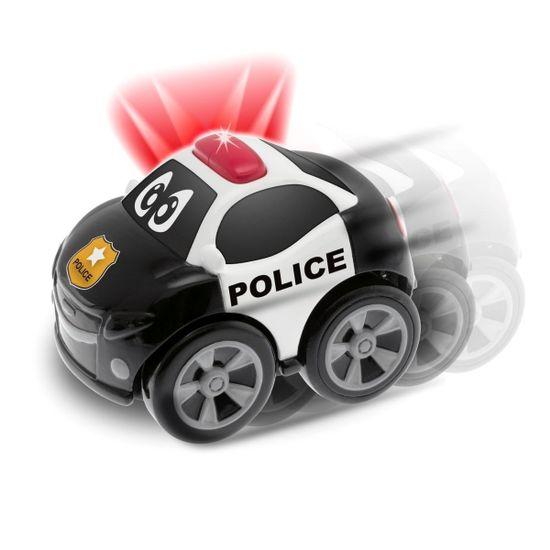 """Машинка инерционная Chicco """"Полиция"""", Turbo Team, арт. 07901"""