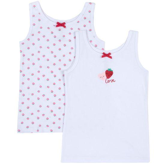 Майка (2 шт) Chicco Love strawberries, арт. 090.11518.031, цвет Красный
