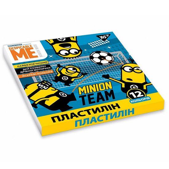 """Пластилин YES """"Minions"""", 12 цв., арт. 540572"""