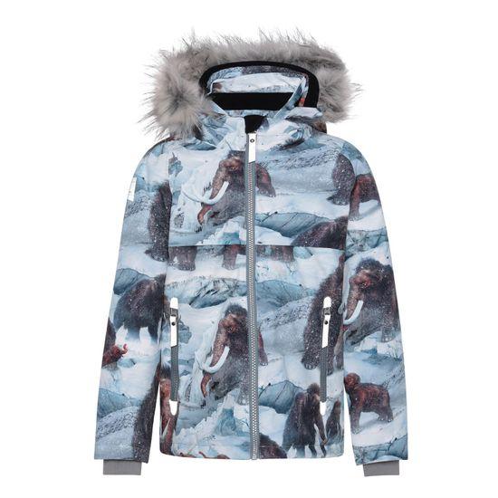 Термокуртка Molo Castor Fur Mammoth, арт. 5W21M303.6354, цвет Голубой