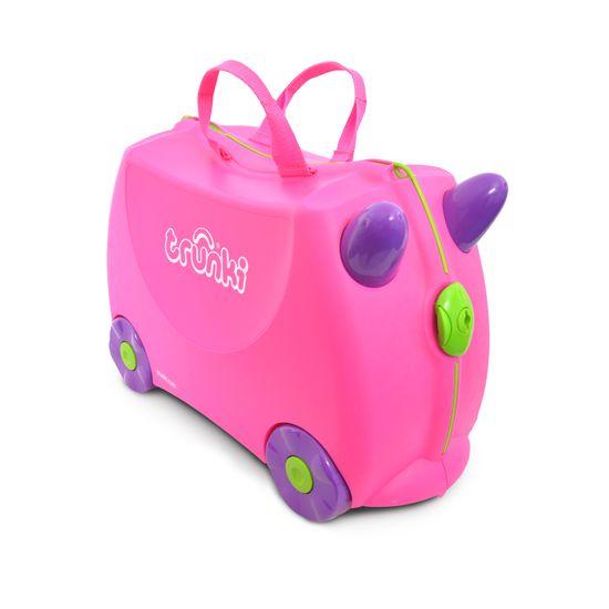 "Детский чемодан Trunki ""Trixie"", арт. 0061-GB01-UKV, цвет Розовый"