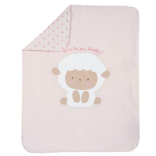 Плед Chicco Lamb, арт. 090.05171.011, цвет Розовый