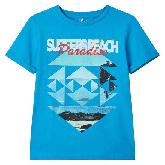 Футболка Name it Surfers beach, арт. 201.13174799.HOCE, цвет Голубой