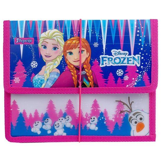 """Папка для тетрадей 1Вересня """"Frozen"""" на резинке, В5, арт. 491848"""