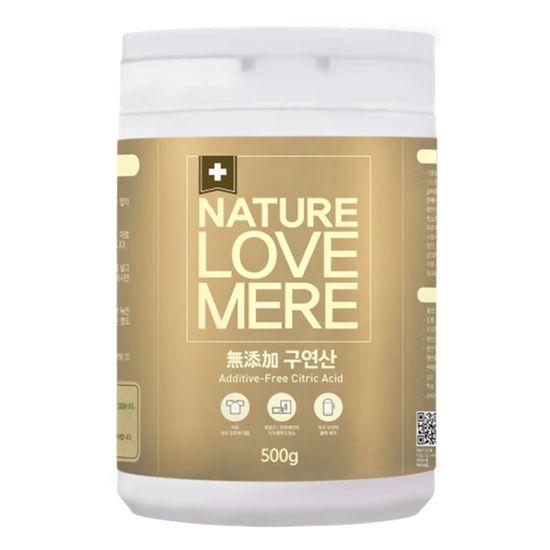 Натуральное многофункциональное средство для уборки Nature Love Mere с лимонной кислотой, 500 г, арт. 8809402090143