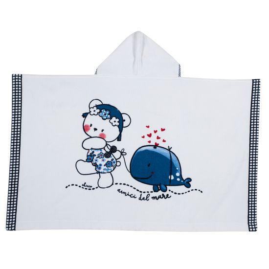 Полотенце Chicco Cherry, арт. 090.40908.037, цвет Синий