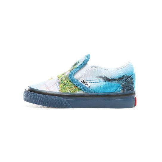 Слипоны Vans (Molo) Surf monster, арт. VA45JIVIF, цвет Голубой