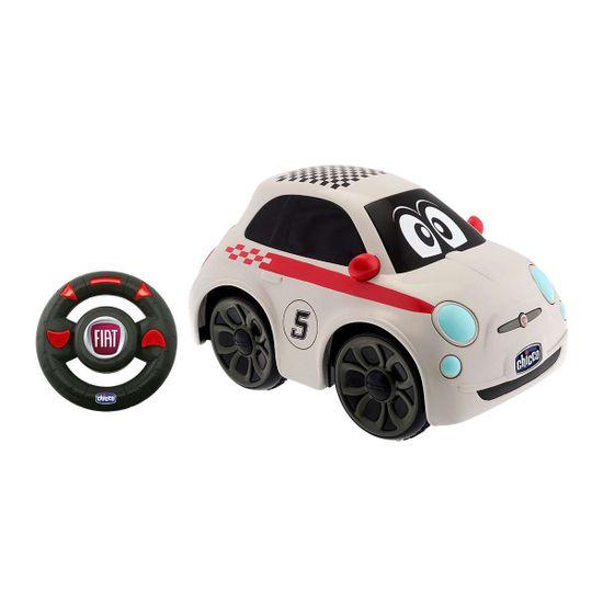 """Машинка на радиоуправлении Chicco """"Fiat 500 Sport"""", арт. 07275.00, цвет Белый"""