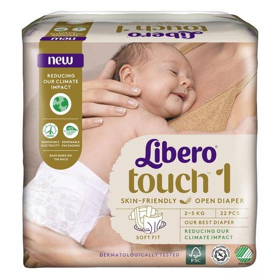 Подгузники Libero Touch, размер 1, 2-5 кг, 22 шт, арт. 7977-00