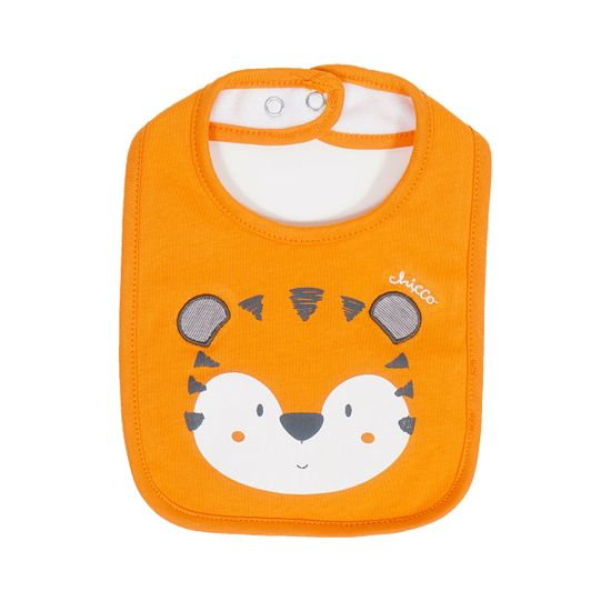 Слюнявчик Chicco Leone, арт. 090.32744.046, цвет Оранжевый