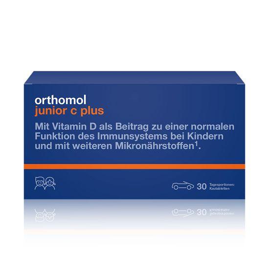 """Витамины для детей Orthomol """"Junior C plus"""", 30 дней, жевательные табл. лесные ягоды, арт. 10013239"""