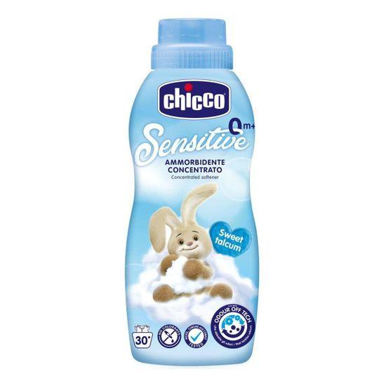 """Смягчитель тканей Chicco """"Sensitive Sweet Talcum"""", 750 мл, арт. 67294.20"""