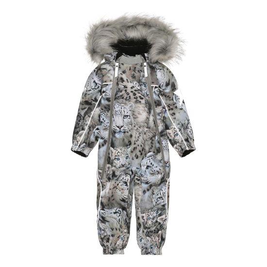 Термокомбинезон Molo Pyxis Fur Snowy Leopards, арт. 5W21N102.6348, цвет Серый