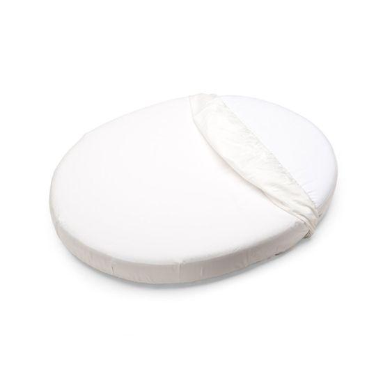 Простынь Stokke для люльки, 53x73 см, арт. 1049, цвет Белый
