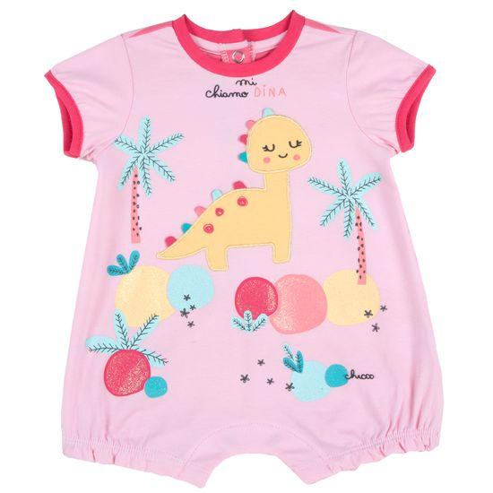 Полукомбинезон Chicco Fun dinosaur, арт. 090.50879.015, цвет Розовый