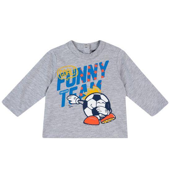 Реглан Chicco Funny team, арт. 090.67102.091, цвет Серый