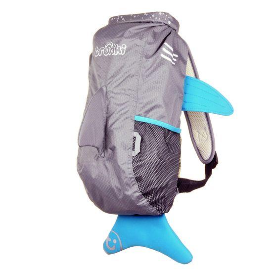 "Детский рюкзак Trunki ""Shark"", арт. 0102-GB01, цвет Серый"