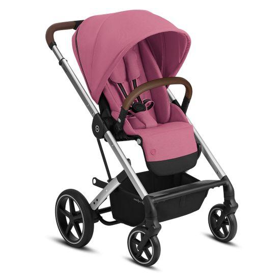 Прогулочная коляска Cybex Balios S Lux (silver), арт. 5200012, цвет Розовый