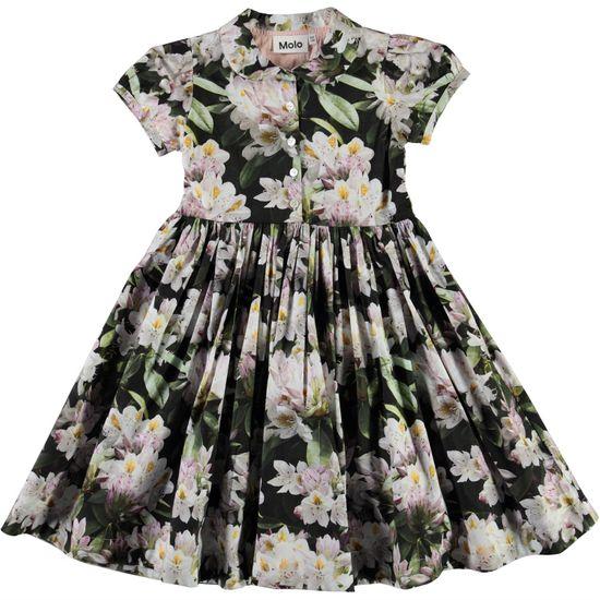 Платье Molo Cybil Pretty Puppy AOP, арт. 2S21E124.6321, цвет Черно-белый
