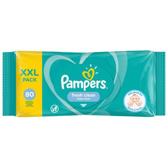 Детские влажные салфетки Pampers Fresh Clean, 80 шт, арт. 8001841077598