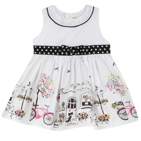 Платье Chicco Paris, арт. 090.03876.039, цвет Белый