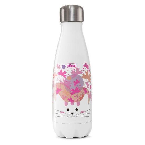 "Термобутылка Chicco ""Drinky"", 350 мл, арт. 10081, цвет Розовый"