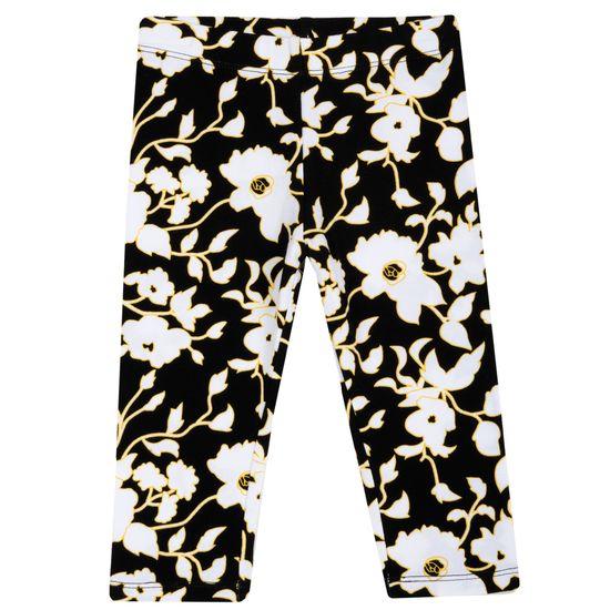 Леггинсы Chicco White flowers, арт. 090.25920.039, цвет Черно-белый