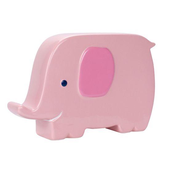 Керамическая копилка Слоненок (розовый), арт. 97150, цвет Розовый