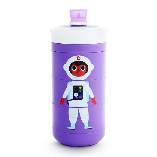 """Бутылочка непроливная Munchkin """"Twisty Mix & Match"""", 266мл, арт. 17408, цвет Фиолетовый"""