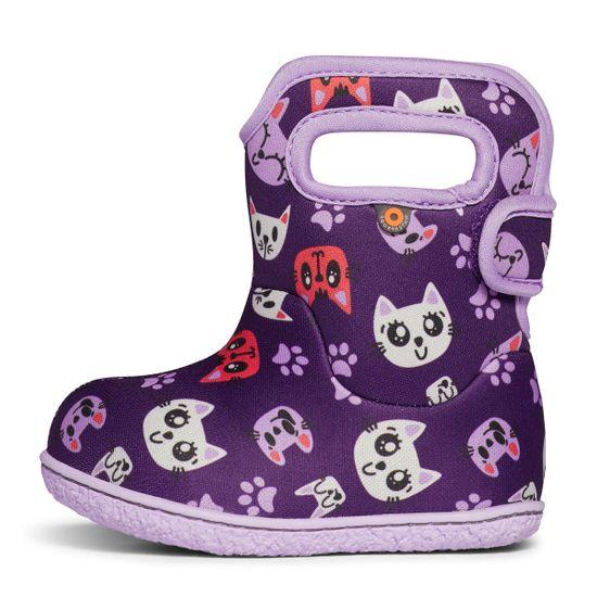 Сапоги Bogs Baby Kitties, арт. 203.72607I.540, цвет Фиолетовый