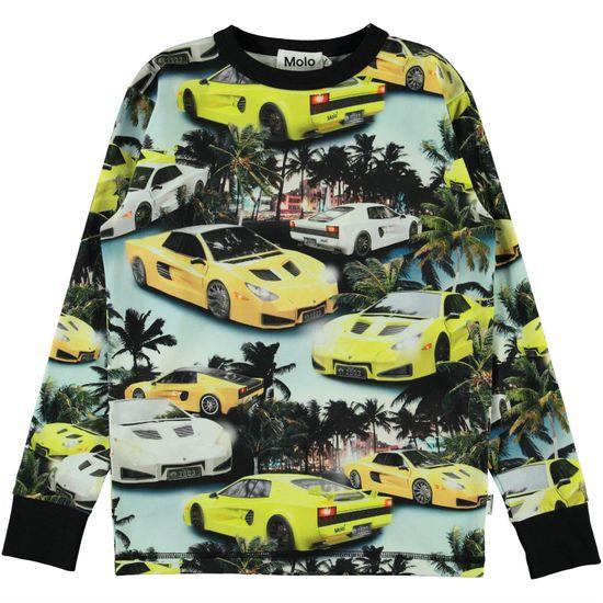 Реглан Molo Rill Fast Cars, арт. 1S21A413.6240, цвет Желтый