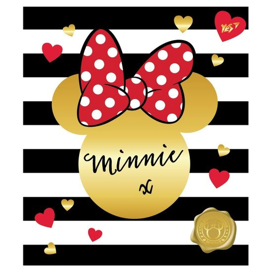 """Тетрадь YES """"Minnie Mouse"""", косая линия, А5, 12 л. , арт. 763197"""