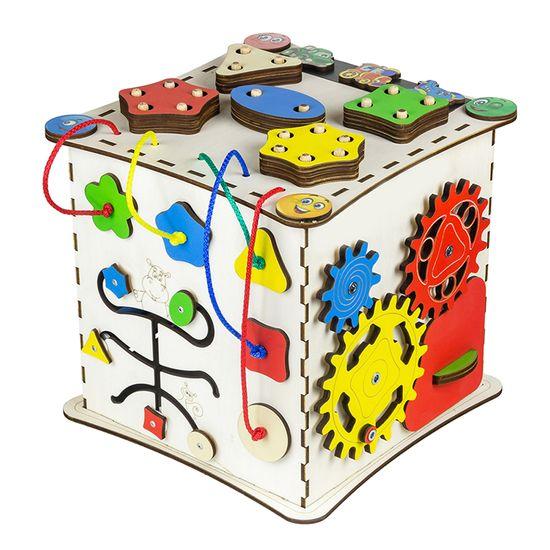 """Бизиборд GoodPlay """"Кубик"""", 25х25х25 см, арт. K008"""
